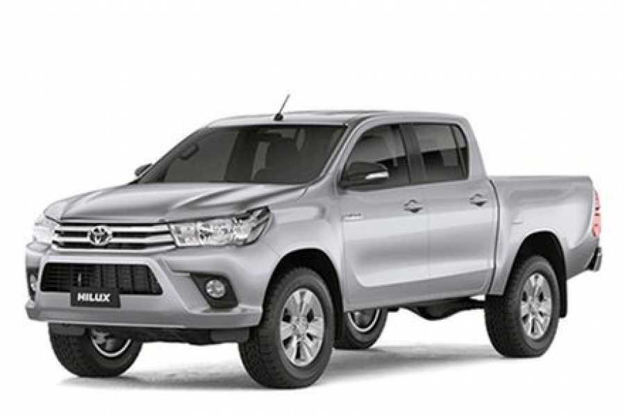 Tour Guanacaste On-Line Toyota Hi-Lux 4X4 Car Rental Costa Rica