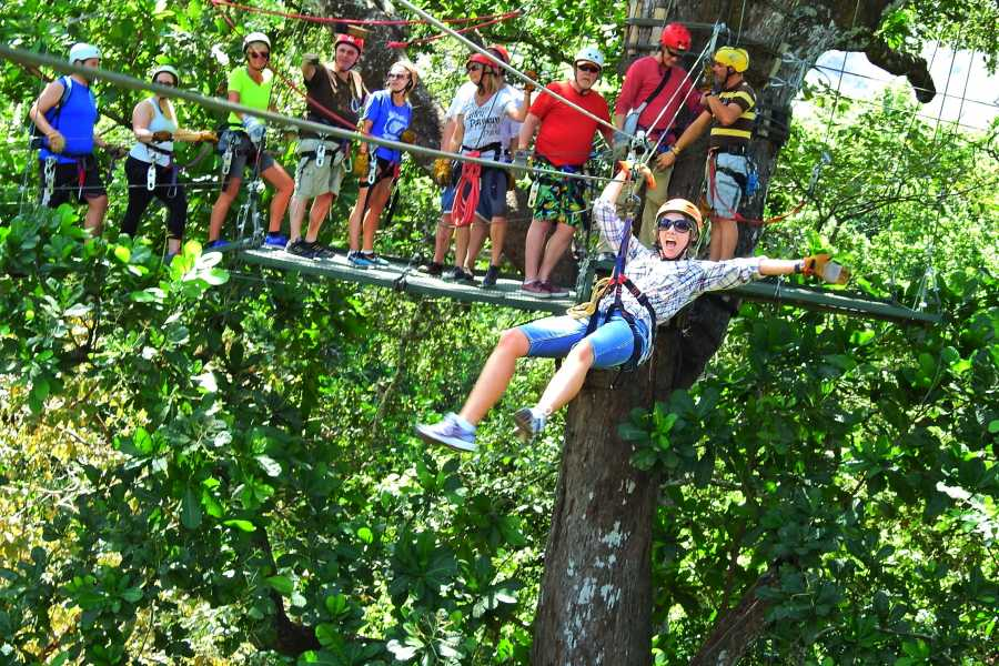 Krain Concierges Canopy Zip Line and Monkey Sanctuary