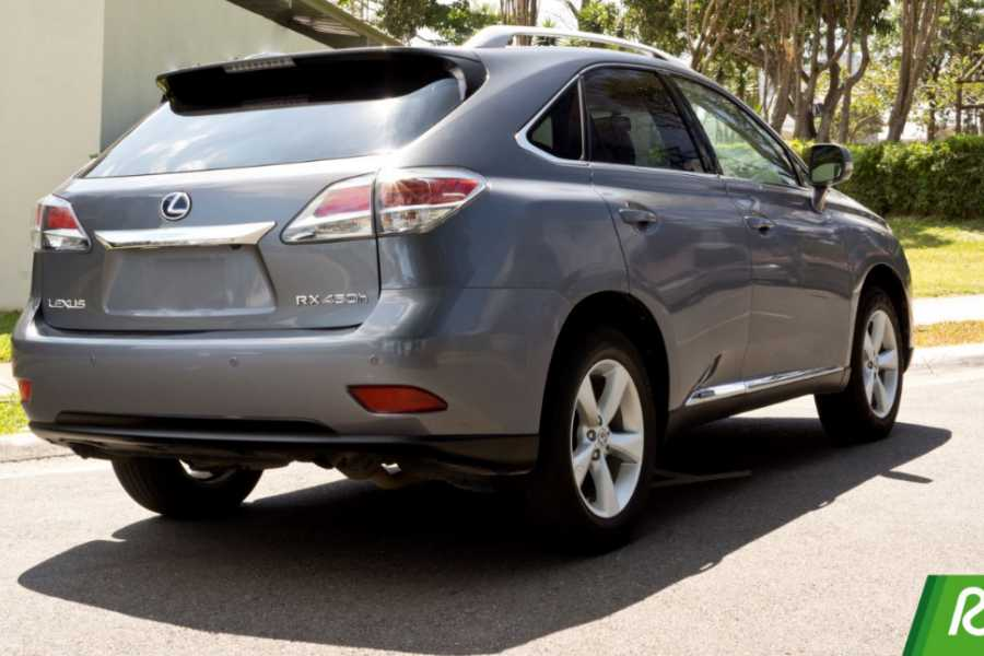 Tour Guanacaste On-Line Lexus RX SUV Rental Costa Rica