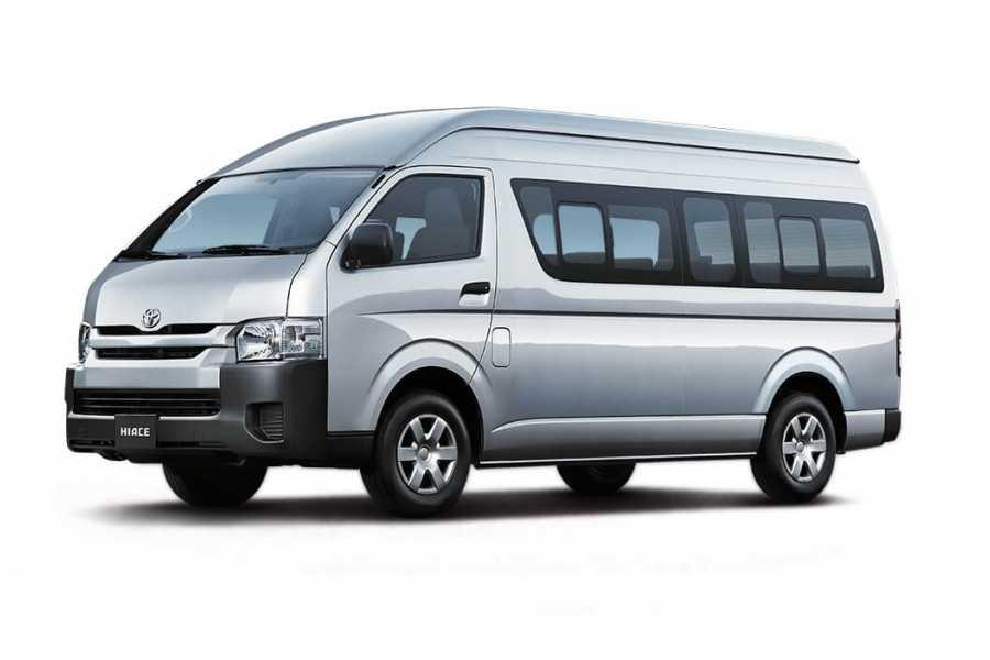 Tour Guanacaste Toyota Hiace 16 Seat Van Rental Costa Rica