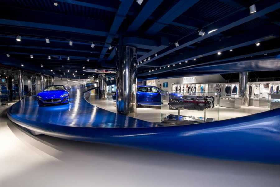 Modenatur Maserati showroom tour gratuito