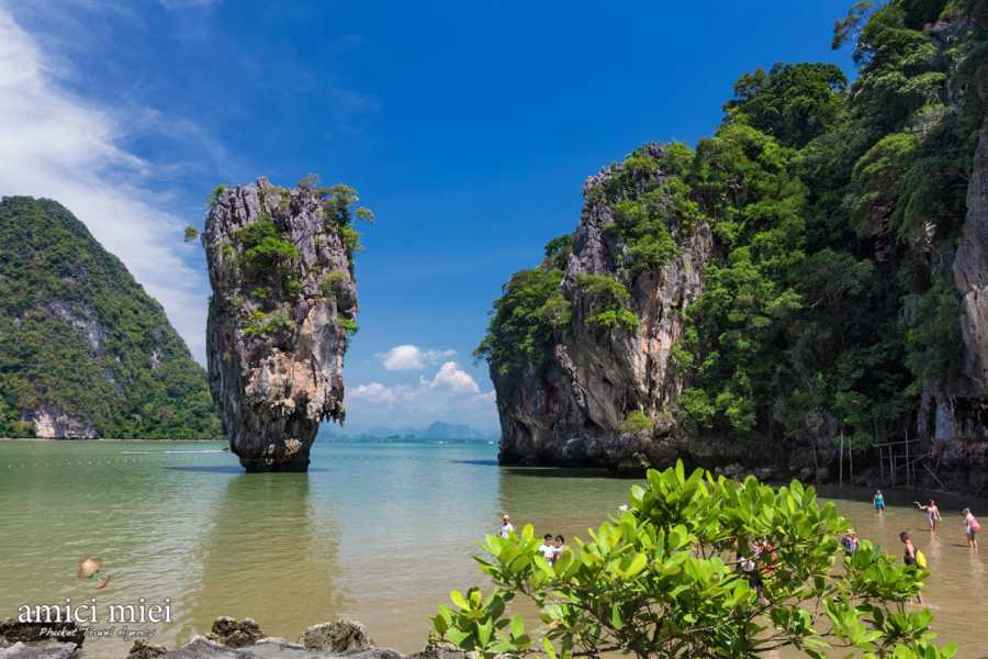 AMICI MIEI PHUKET TRAVEL AGENCY JAMES BOND AND KHAI ISLAND , NEW PROGRAM AM021