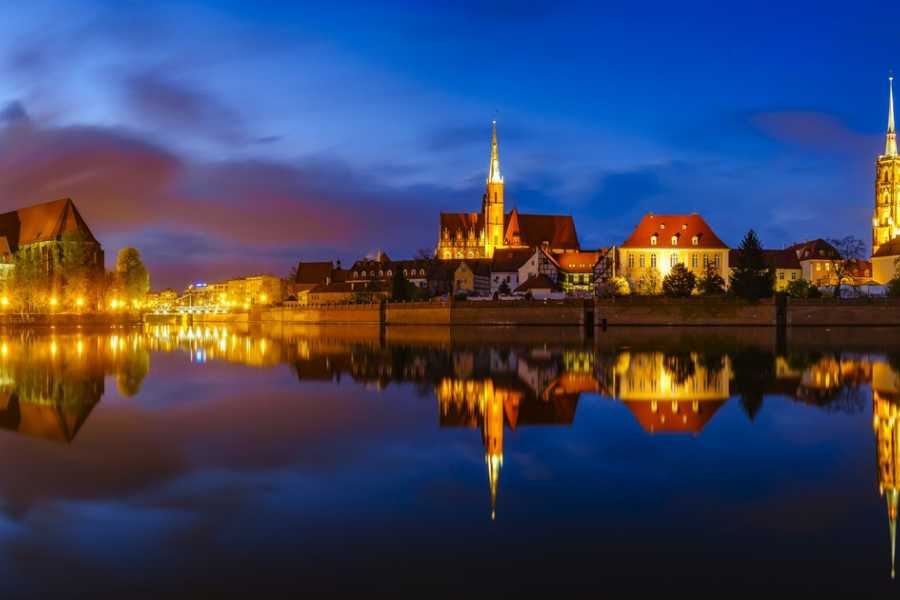Wroclaw Sightseeing Tours Private wine tasting river cruise