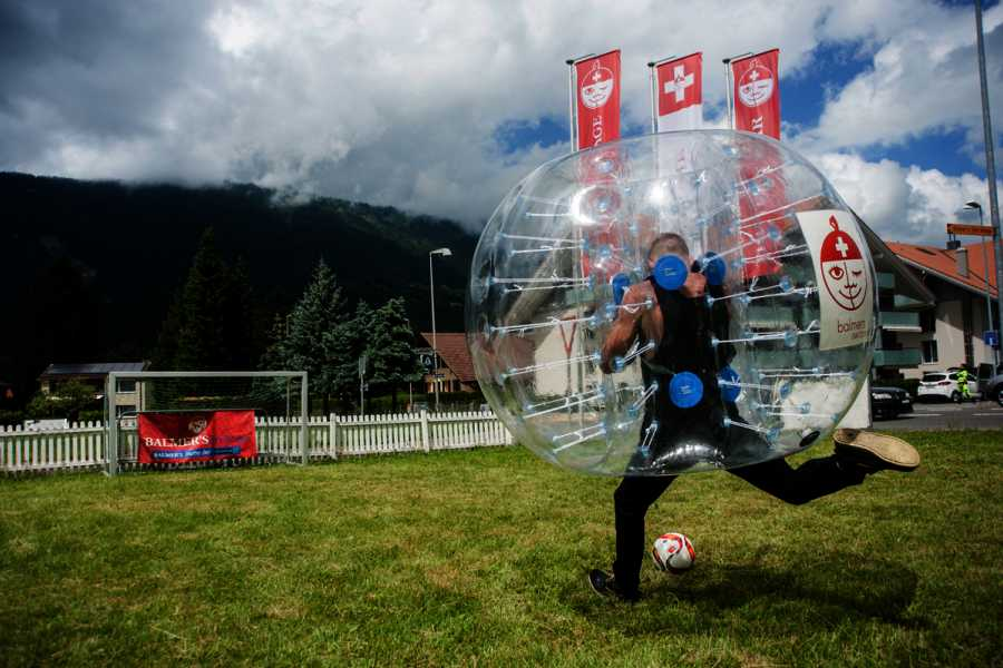 Balmers Tent Village Open Bubble Ball Tournament