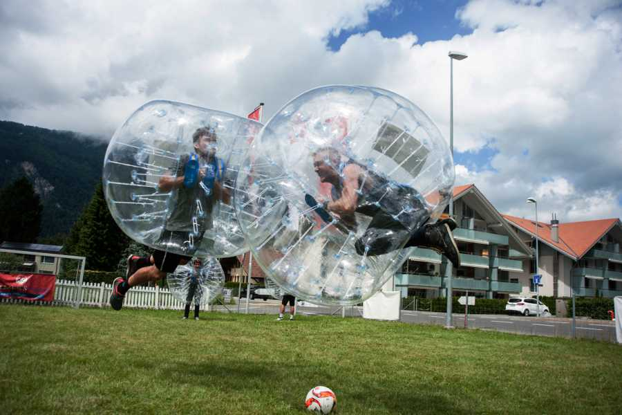 Balmers Tent Village Open Bubble Ball Tournament