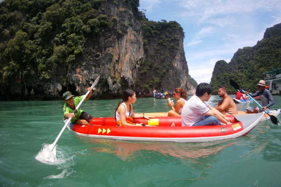 AMICI MIEI PHUKET TRAVEL AGENCY TOUR WITH CANOE- JAMES BOND ADVENTURE AM072