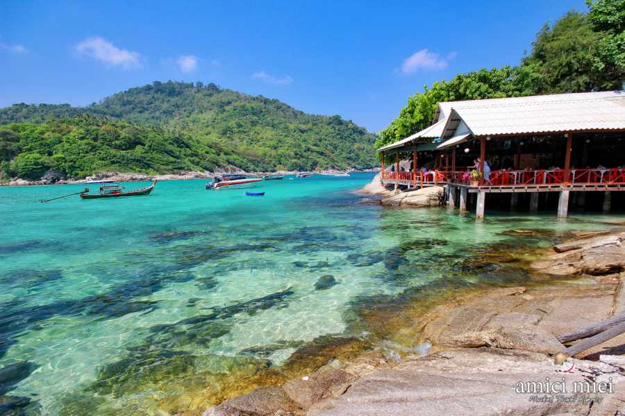 AMICI MIEI PHUKET TRAVEL AGENCY RAYA ISLAND TOUR