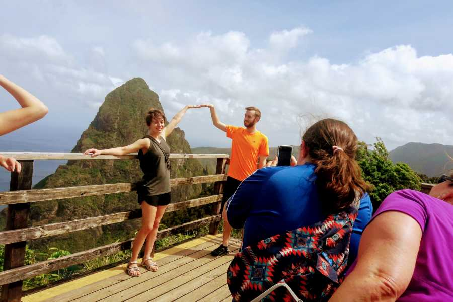 Eco Adventures Saint Lucia Tours TET PAUL TRAIL TREK