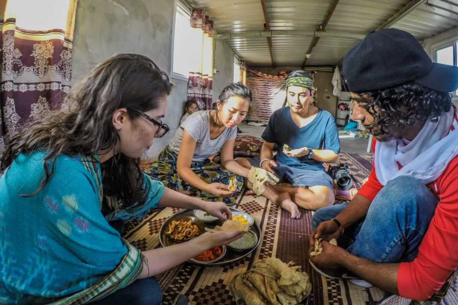 Wild-Trails Iftar Meal with the Bedouins