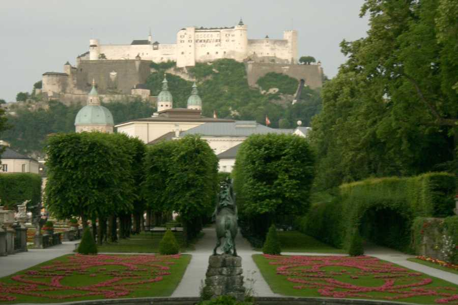 Kultur Tourismus Salzburg Sightseeing Tour with Palace Hellbrunn
