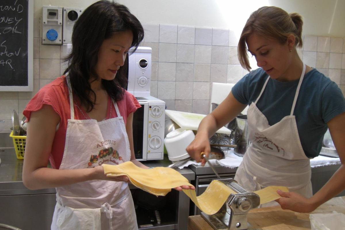 Tuscany on a Budget tours FRESH HOMEMADE PASTA COOKING COURSE