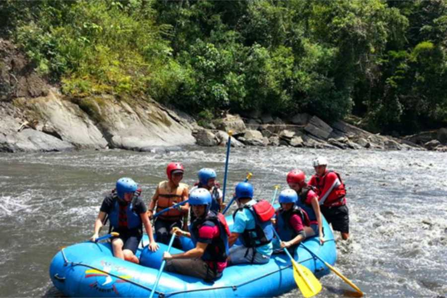 Medellin City Services WHITE WATER RAFTING FROM BOGOTA