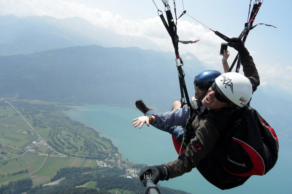 Star Paragliding, Switzerland 1 - THE STAR