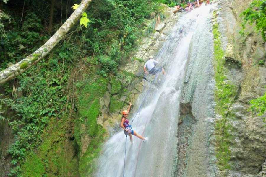 Medellin City Services CANYONING FROM BOGOTA