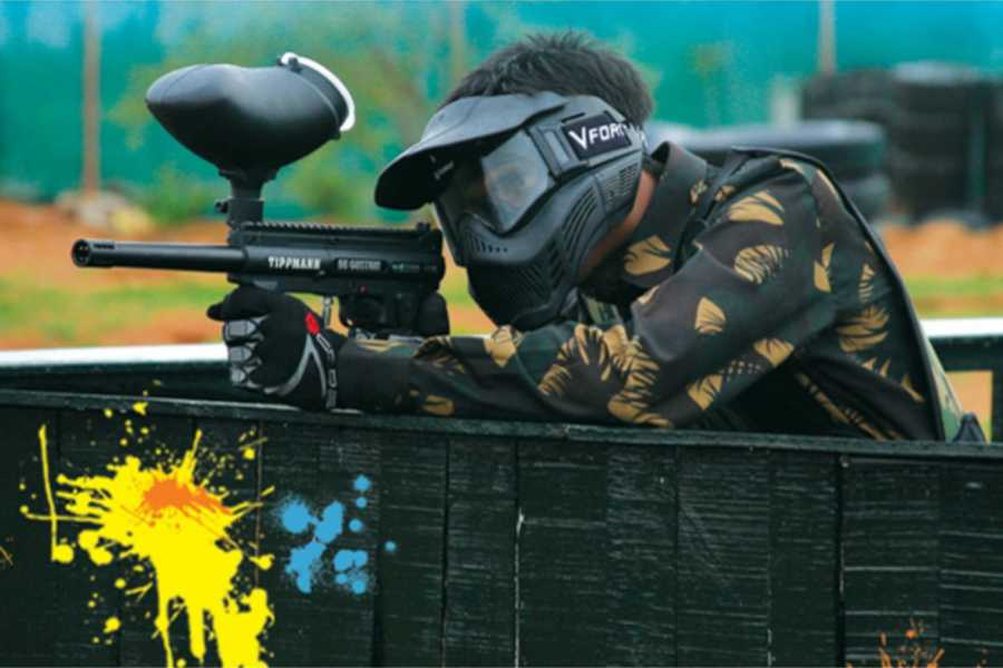 Medellin City Services Private Paintball from Bogota