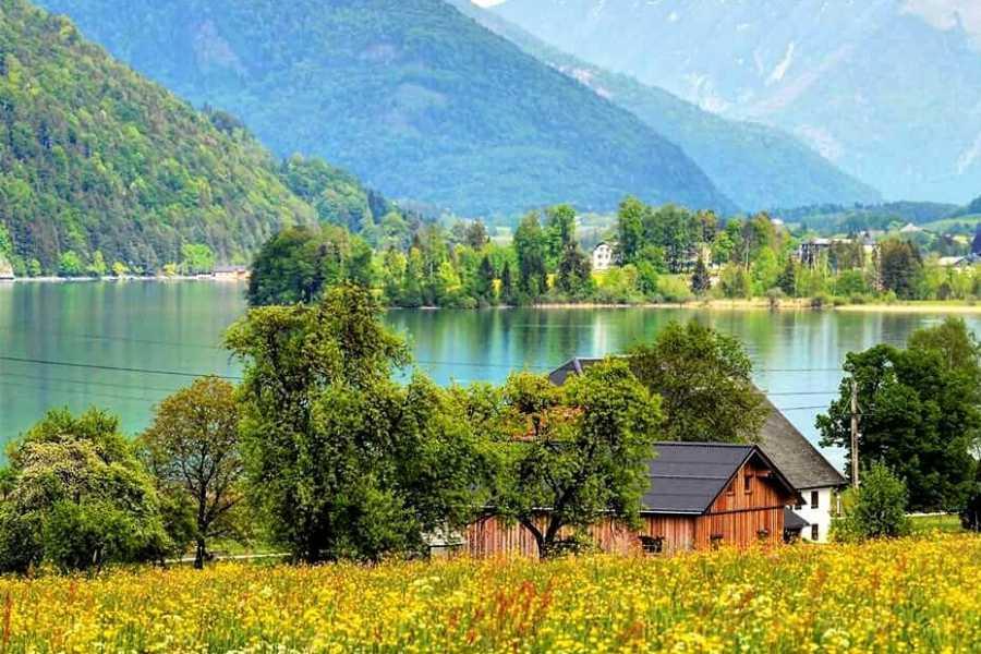 """Kultur Tourismus Salzburg Salzkammergut - """" Sehnsucht nach dort"""" Auf den Spuren von G. Klimt, G. Mahler und J. Brahms(ganztags)"""