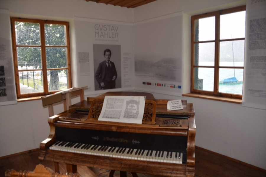 Kultur Tourismus Salzburg Salzkammergut - Auf Sommerfrische von G. Klimt und G. Mahler (ganztags)