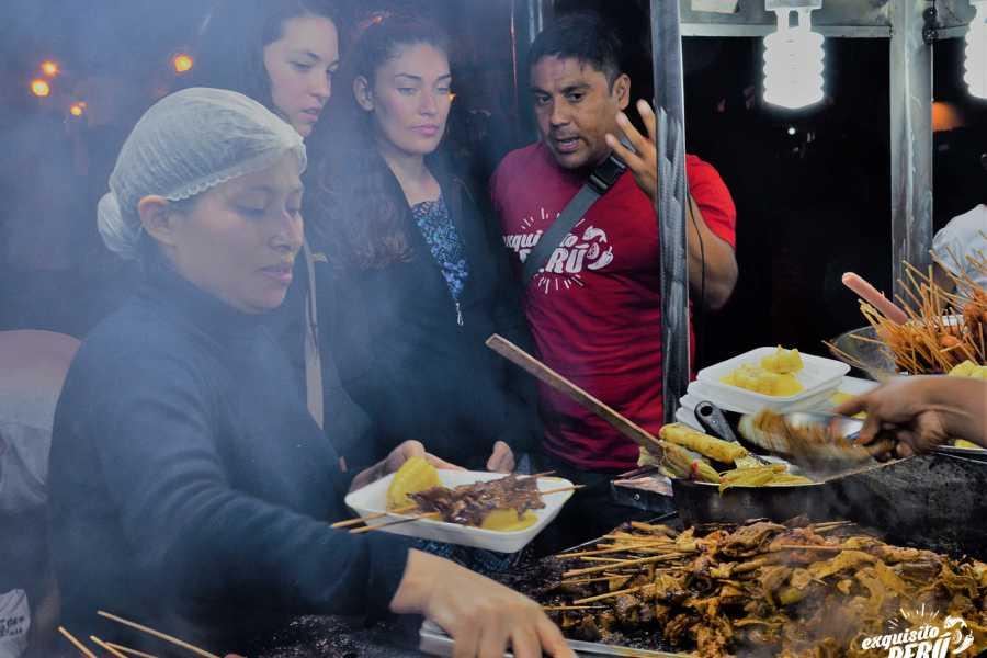 """Exquisito Perú Experiencia """"street food"""" en el centro histórico de Lima"""