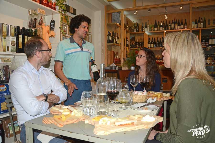 Exquisito Perú Degustación de vinos & quesos artesanales peruanos