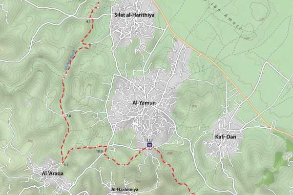 2-9 March 2021, Rummana to Kafr Malek
