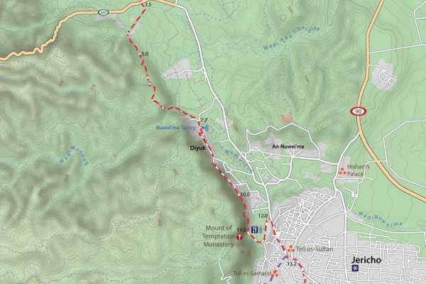 10 March– 18 March 2021, Kafr Malek to Tuqua, Spring Thru-Hike 2021