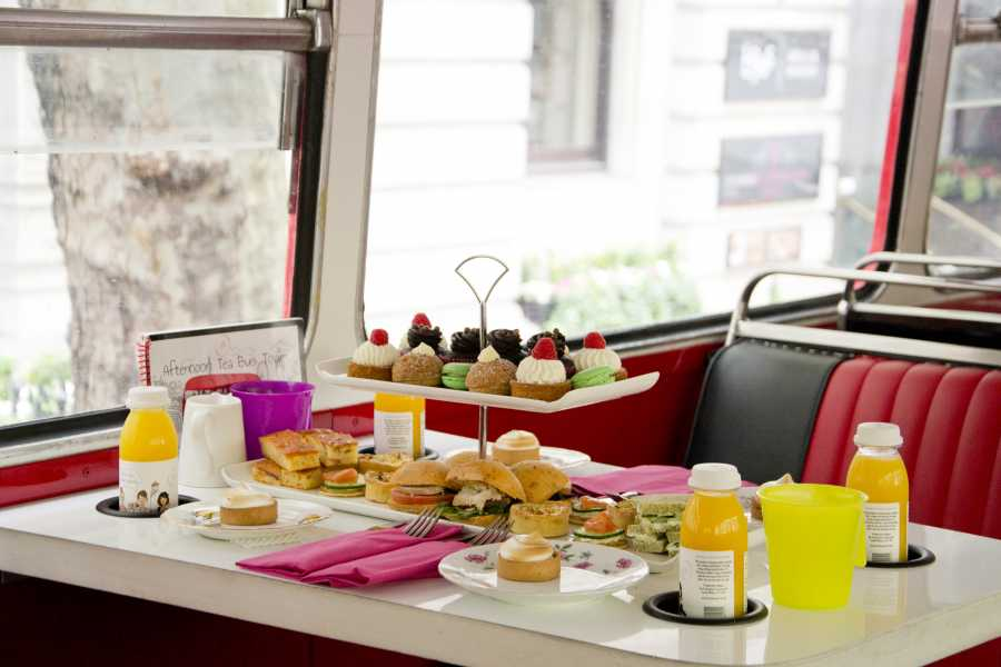 Muslim History Tours Halal Afternoon Tea Bus