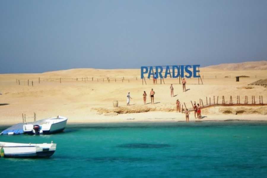 Excursies Egypte Paradise Island Snorkeling Trip from Hurghada