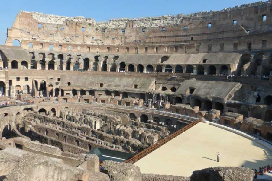 Real Rome Tours Advance Requests: VIP Colosseum Underground Group Tour