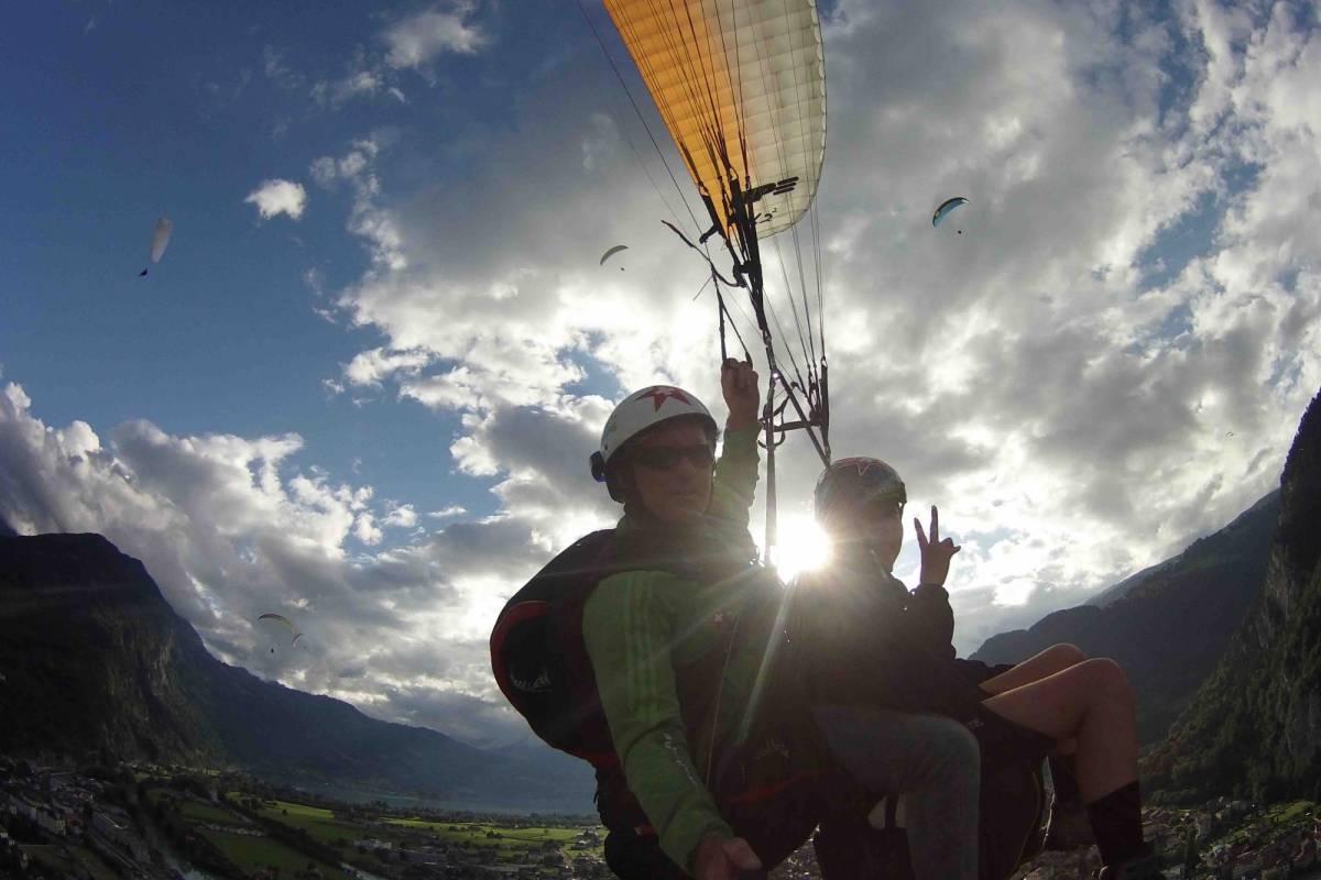 Star Paragliding, Switzerland 4 - THE SUNSET STAR