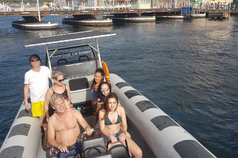 Blue Bay Dive & Watersports Powerboat 2.5 hour east tour