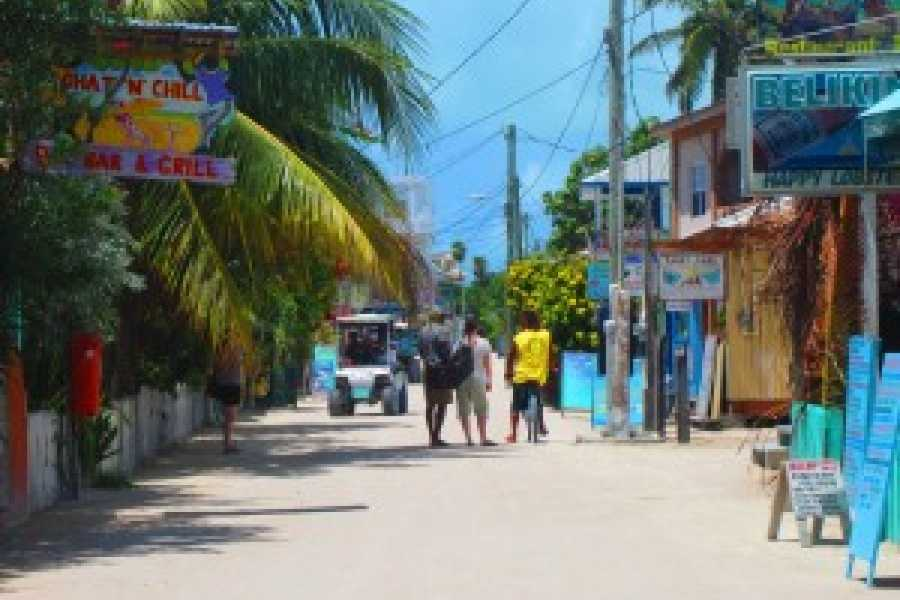 Ocean Ferry Belize Caye Caulker to Belize City - Round Trip