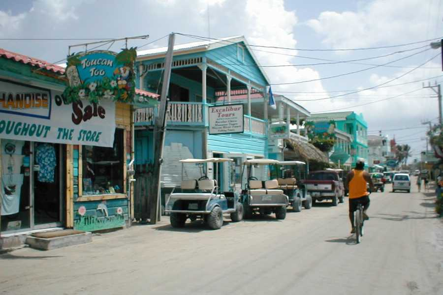 Ocean Ferry Belize San Pedro to Caye Caulker - Round Trip