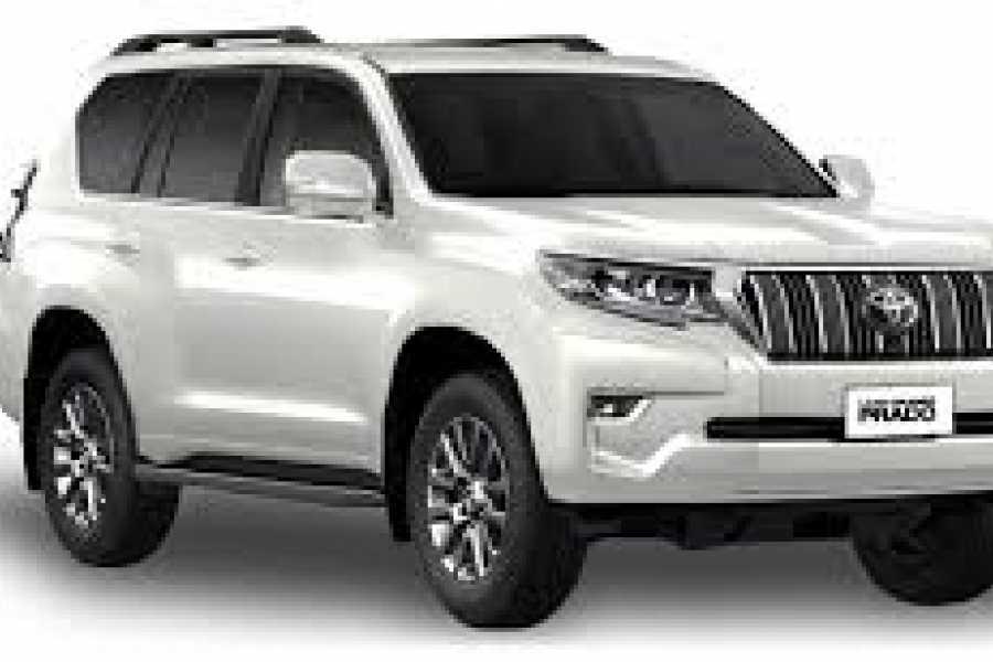 Krain Concierges Toyota Prado 7 Passenger Daily Rental