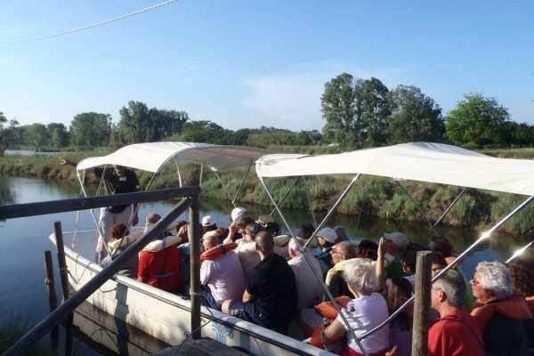 Salina di Cervia in Barca + Navetta da Pinarella-Cervia