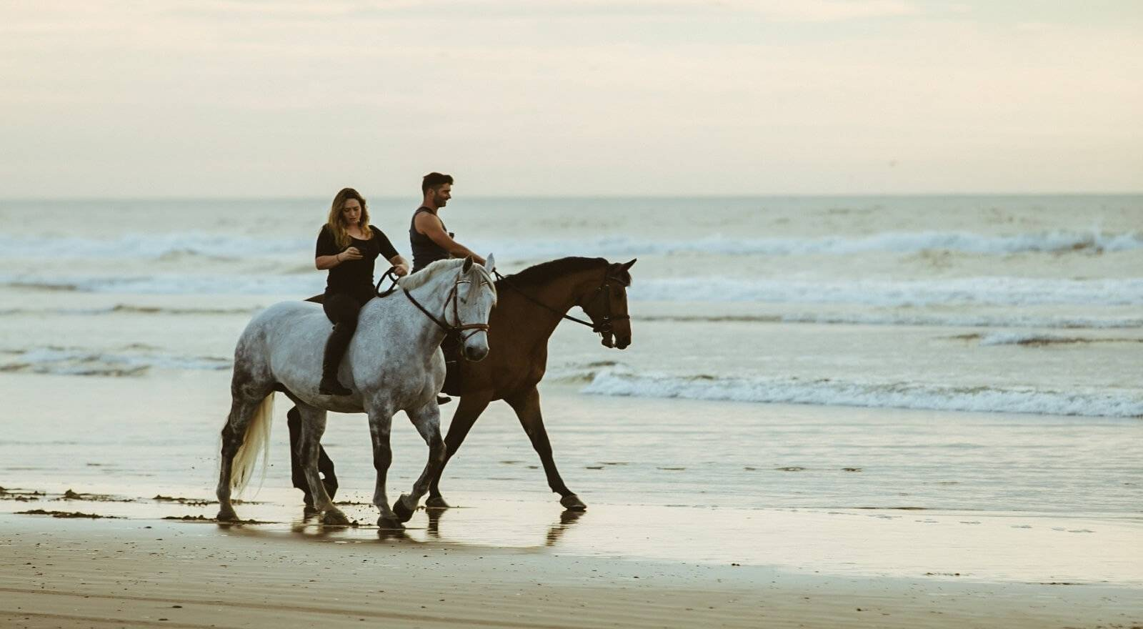 Horseback Beach Ride at Belle Mare, Mauritius