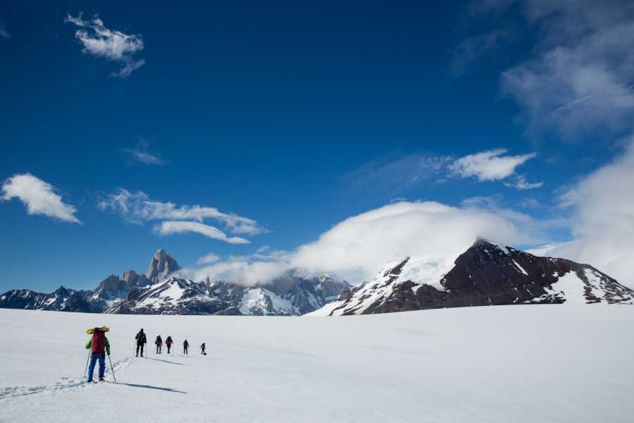 Patagonia Hikes Ice field Expedition around Mount Fitz Roy and Cerro Torre. 8 Day Circuit