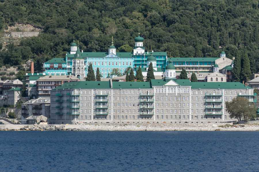 Grekaddict Cruise Mount Athos and Blue Lagoon in Halkidiki