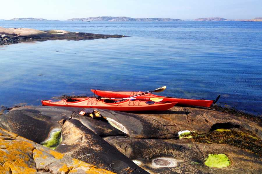 Outdoor West Kayak rental in Lysekil, Outdoor West Sweden