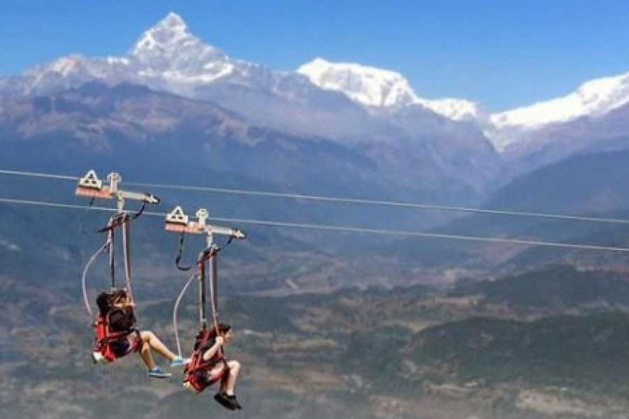 Walkbout International LLC Air Experiences - Nepal: Kathmandu & Pokhara – 4 Nights & 5 Days