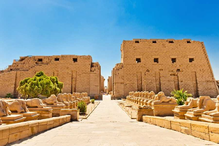 Marsa alam tours Cairo and Luxor two days tour  from El-Gouna By Flight