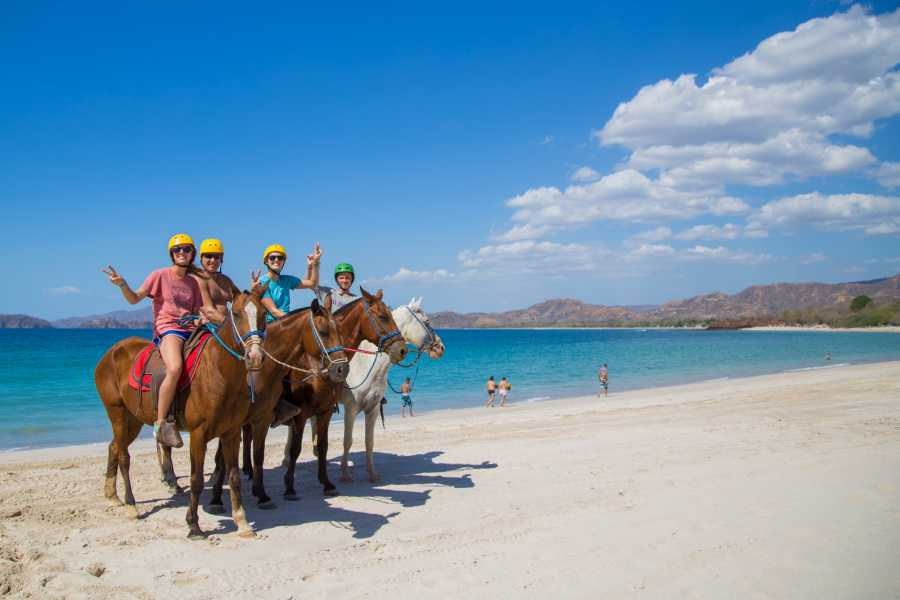 Tour Guanacaste On-Line Diamante Horseback Riding Tour