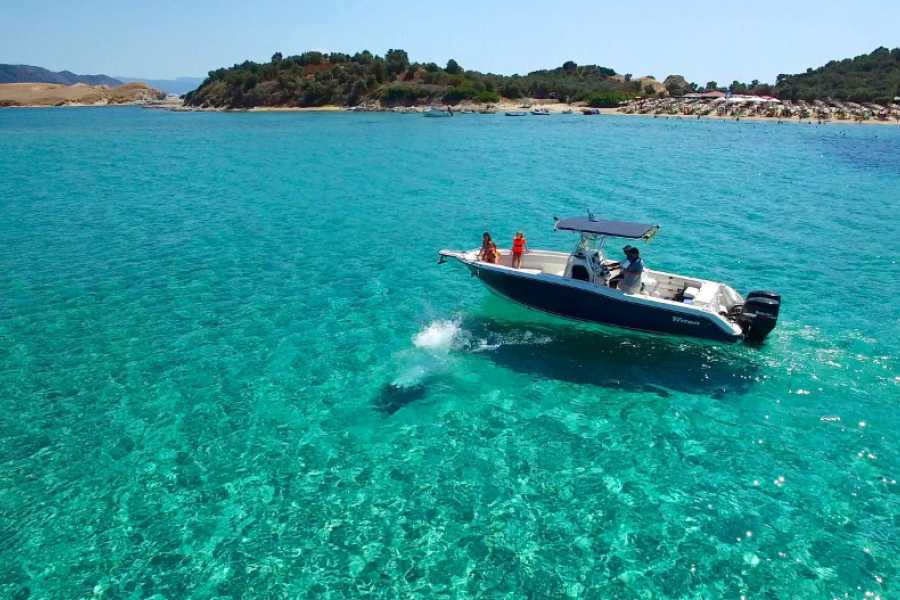Grekaddict Rent a boat in Halkidiki from Ouranoupoli