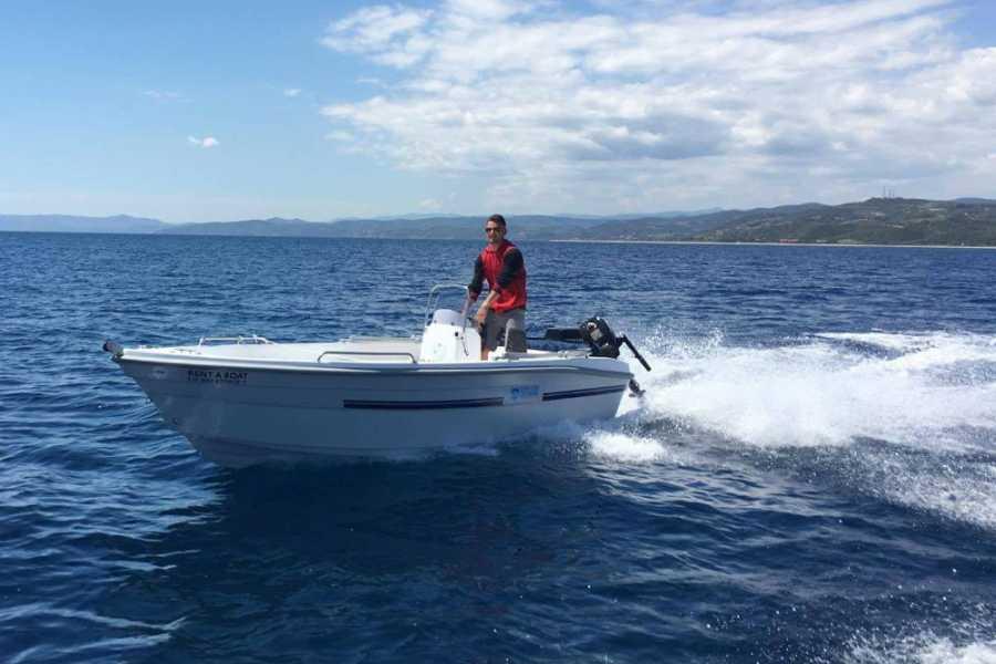 Grekaddict Rent a boat in Halkidiki from Vourvourou