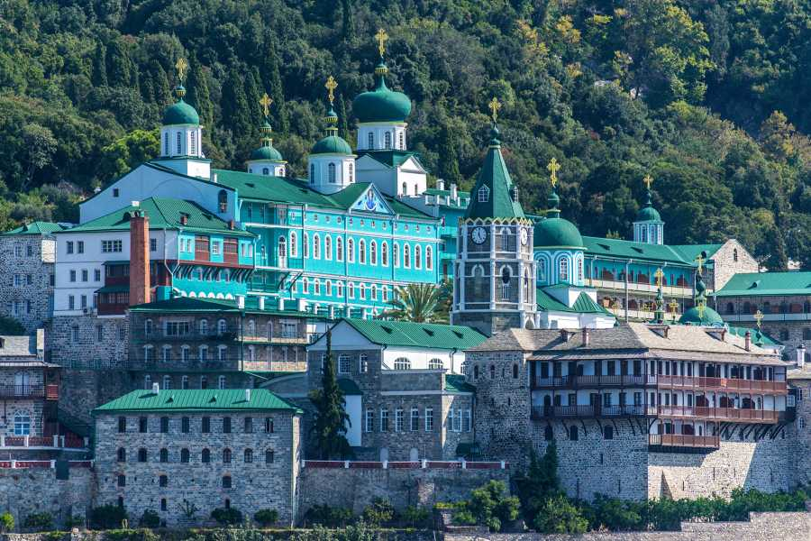 Grekaddict Boat cruise around the Monasteries of Mount Athos