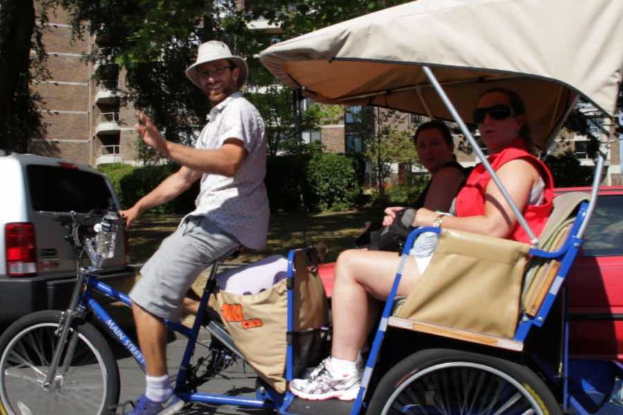 Victoria Pedicab Company Cruise Ship Guest Package Tour