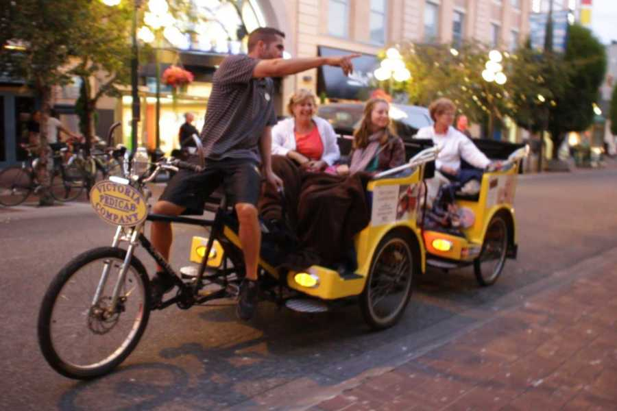 Victoria Pedicab Company Victorian Secrets Tour, Fashion District and Historic Core