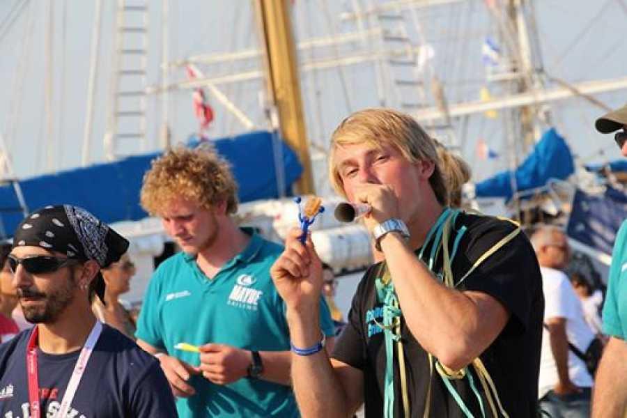 Maybe Sailing International Tall Ship Races 2019. Race 1