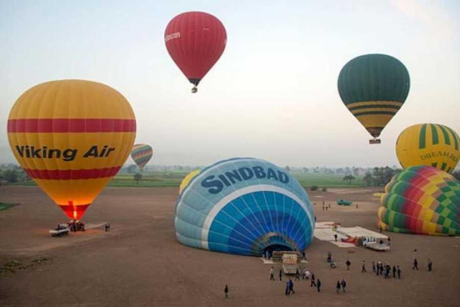 Excursies Egypte Tour en montgolfière à Louxor