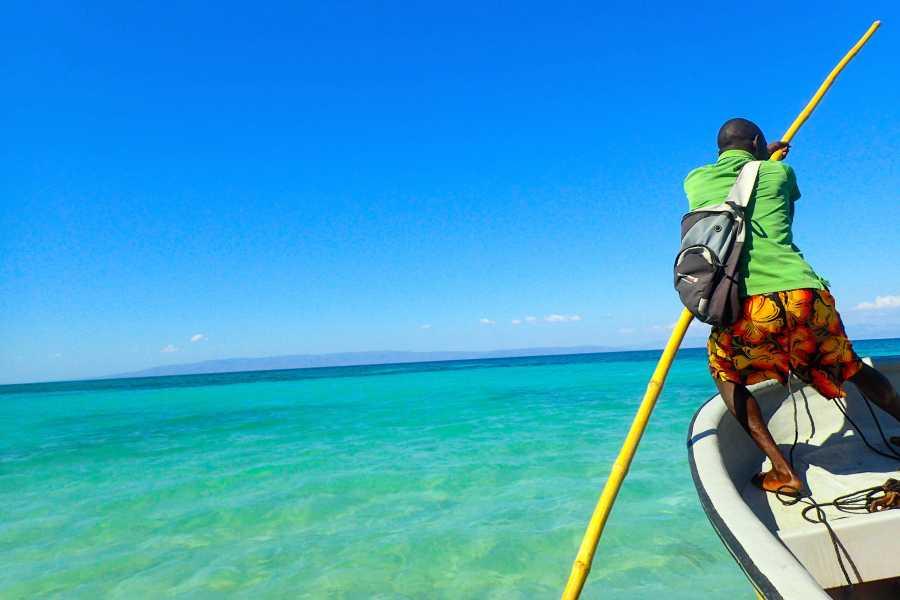 Marina Blue Haiti Boat trip to Bananier Beach