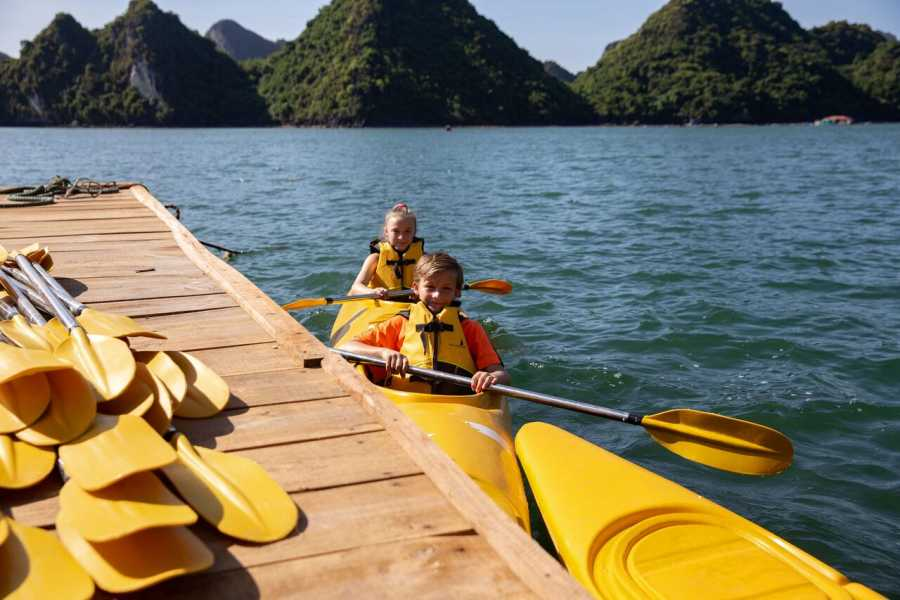 Friends Travel Vietnam Perla Dawn Sails Cruise | 3D2N Halong Bay